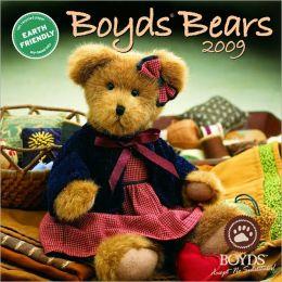 2009 Boyds Bears Wall Calendar