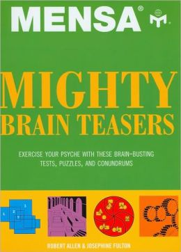 Mensa: Mighty Brainteasers