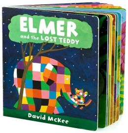 Elmer and the Lost Teddy: Lap Board Book