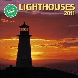 2011 Lighthouses Mini Wall Calendar
