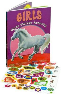 Giant Sticker Activity Girls