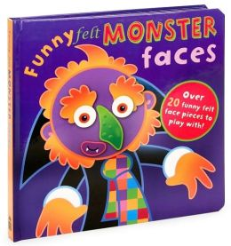 Monster Faces (Funny Felt Faces)