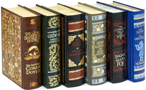 The Classics Collection: Six Volumes of Classic Fiction (Barnes & Noble Leatherbound Classics)