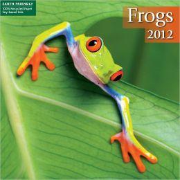 2012 Frogs Mini Wall Calendar