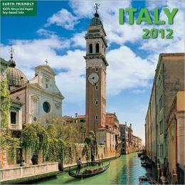 2012 Italy Mini Wall Calendar