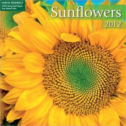 2012 Sunflowers Mini Wall Calendar