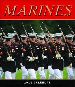 2012 Marines Wall Calendar