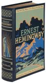 Book Cover Image. Title: Ernest Hemingway:  Four Novels (Barnes & Noble Leatherbound Classics), Author: Ernest Hemingway