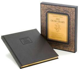 2012 Barnes & Noble Hardcover Desk Diary