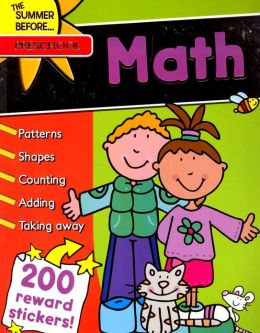 The Summer Before...Preschool, Math