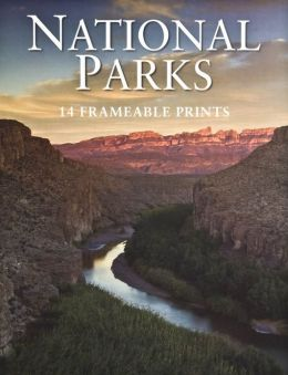 National Parks Poster Book