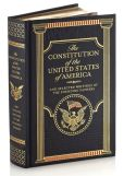 Book Cover Image. Title: The Constitution of the United States of America and Selected Writings of the Founding Fathers (Barnes & Noble Leatherbound Classics), Author: Various Authors