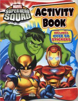 Super Hero Squad Coloring Book