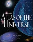 Book Cover Image. Title: Illustrated Atlas of the Universe, Author: Mark A. Garlik
