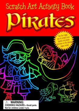 Pirates Scratch Art
