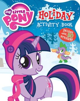 My Little Pony Christmas Coloring Book