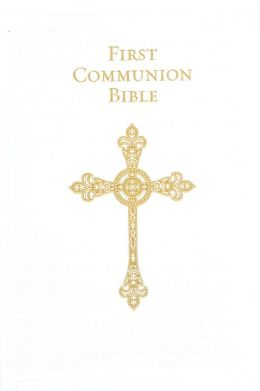 First Communion Bible (White)