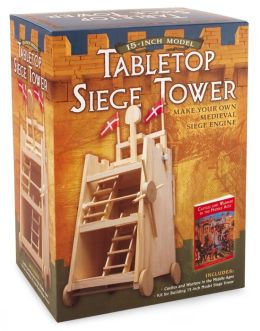 Tabletop Siege Tower: Make Your Own Medieval Siege Engine
