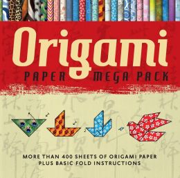 Origami Paper Mega Pack: More than 400 Sheets of Origami Paper Plus Basic Fold Instructions