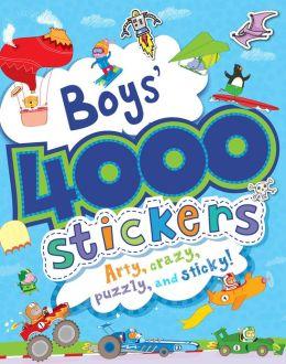 Boys' 4000 Stickers