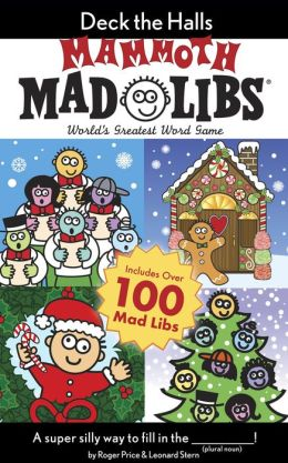Deck the Halls Mammoth Mad Libs