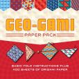 Book Cover Image. Title: Geo-gami Paper Pack:  Basic Fold Instructions Plus More than 400 Sheets of Origami Paper, Author: Sterling Publishing Co., Inc.