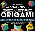 Book Cover Image. Title: Amazing Geometric Origami, Author: Nick Robinson