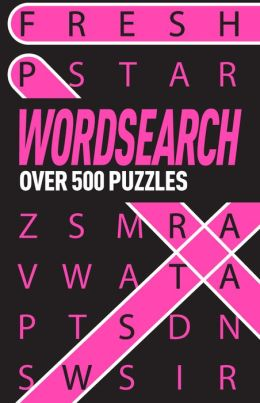 Wordsearch Over 500 Puzzles