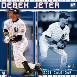 2011 New York Yankees - Derek Jeter 12X12 Player Wall Calendar