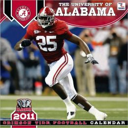 2011 Alabama Crimson Tide 12X12 Wall Calendar
