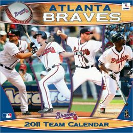 2011 Atlanta Braves 12X12 Wall Calendar