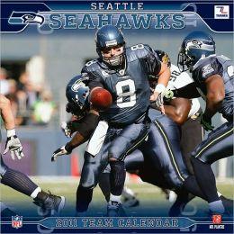 2011 Seattle Seahawks 12X12 Wall Calendar