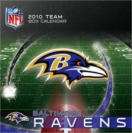 2011 Baltimore Ravens Box Calendar