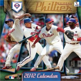 2012 PHILADELPHIA PHILLIES 12X12 WALL CALENDAR