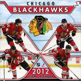 2012 CHICAGO BLACKHAWKS 12X12 WALL CALENDAR