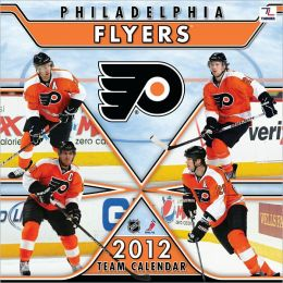 2012 PHILADELPHIA FLYERS 12X12 WALL CALENDAR