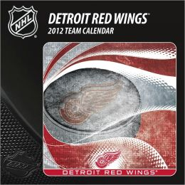 2012 DETROIT RED WINGS BOX CALENDAR