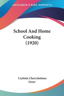 School and Home Cooking (1920)
