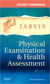 Book Cover Image. Title: Pocket Companion for Physical Examination and Health Assessment, Author: Carolyn Jarvis