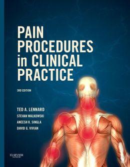 Pain Procedures in Clinical Practice