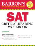 Book Cover Image. Title: Barron's SAT Critical Reading Workbook, 14th Edition, Author: Sharon Weiner Green
