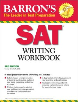 Barron's SAT Writing Workbook, 3rd Edition