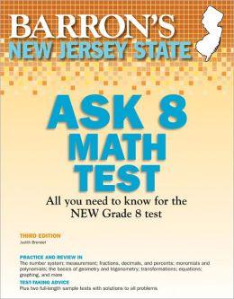 New Jersey Ask 8 Math Test