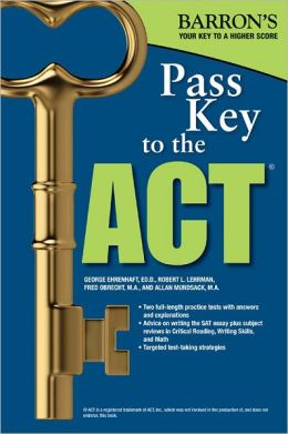 Pass Key To The ACT, 9th Edition