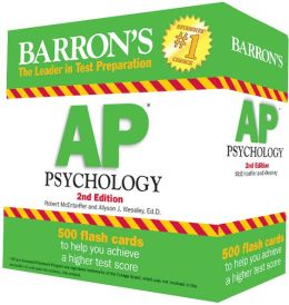 Barron's AP Psychology Flash Cards