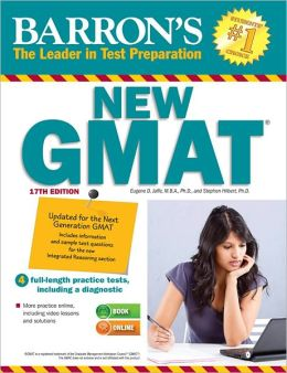 Barron's GMAT, 17th Edition
