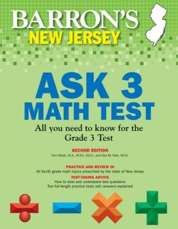 Barron's New Jersey ASK 3 Math Test, 2nd Edition