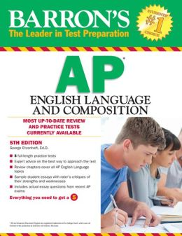 Barron's AP English Language and Composition, 5th Edition
