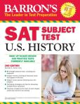 Book Cover Image. Title: Barron's SAT Subject Test in U.S. History, 2nd Edition, Author: Kenneth R. Senter M.S.