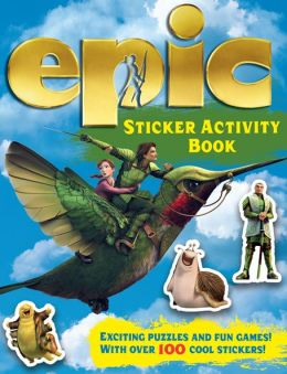 Epic Sticker Activity Book